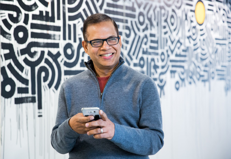Amit Singhal  former head of Google Search