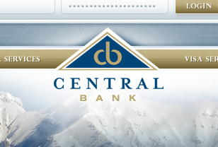 Central Bank website design