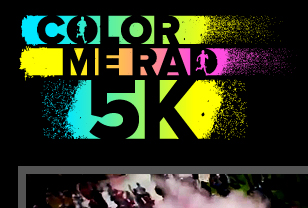 Color Me Rad website design